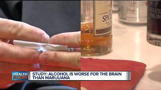 Ask Dr. Nandi: Study shows alcohol is worse for the brain than marijuana - Video