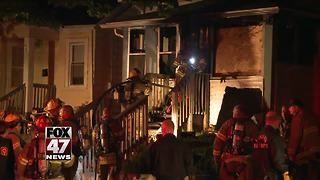 Investigation into morning house fire - Video
