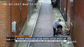 Sister of heroin use suspect: 'I hope this is rock bottom' - Video