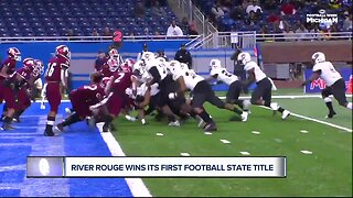 River Rouge wins its first football state title