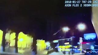 Las Vegas police release body-camera video from recent shootings - Video