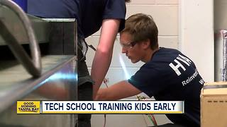New technical high school offers big opportunity for young Pasco County students - Video