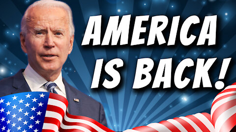 "Joe Biden Declares ""America is Back"" As He Drags U.S. Into Disastrous Foreign Policies 