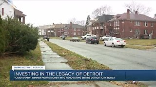 Making a difference: Building a legacy, one Detroit block at a time