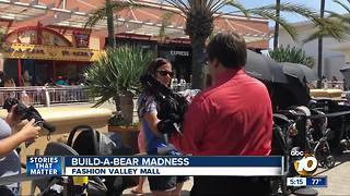 Build-A-Bear madness hits stores around the US - Video