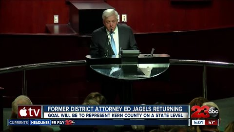 Former District Attorney returning to volunteer time