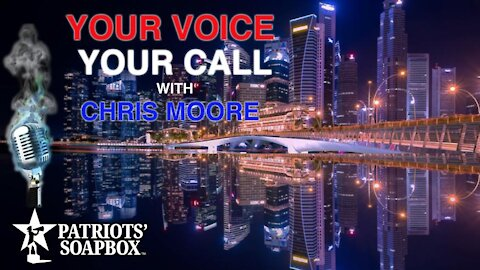 Ep. 66 Joe Biden 1st Press Conference & More! - Your Voice, Your Call: with Chris Moore