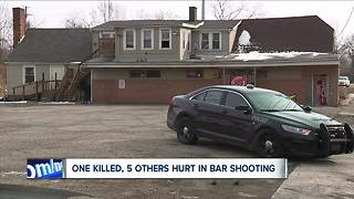 One dead, five injured in Garfield Heights bar shooting - Video