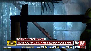 1 dead in Tampa house fire