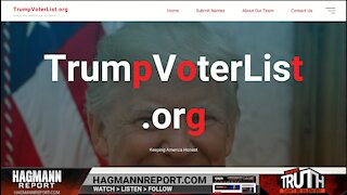 Website Making Lists of Trump Voters - That's Fascism - The Hagmann Report Brief 2/23/2021