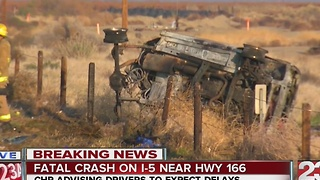 Crash on NB I-5 near Hwy 166 leaves two dead three injured - Video