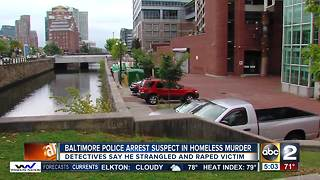 Baltimore Police: suspect sexually offended victim after killing her - Video