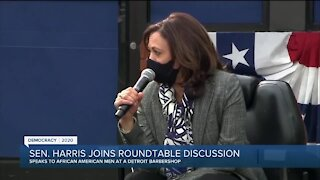 Sen.Harris joins roundtable discussion in Detroit