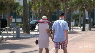Pinellas County beaches reached capacity during Memorial Day weekend