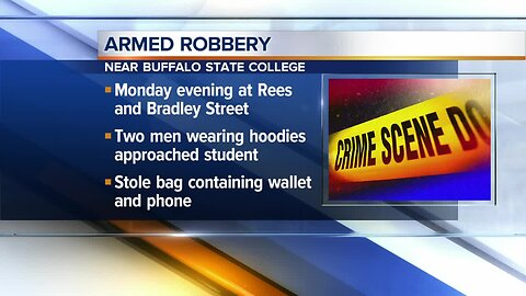Police investigate armed robbery near Buffalo State College campus