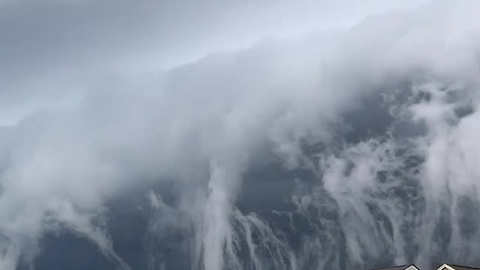 Woman Captures Strange Clouds On Camera That Belong In A Doomsday Movie