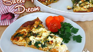 Sweet potato frittata recipe - Video