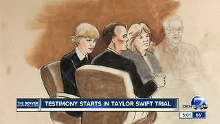 Taylor Swift trial advances with opening statements - Video