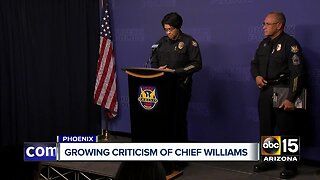 Phoenix leaders divided after police chief fires officers