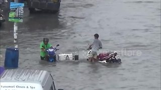 Flash floods hit Thailand as rainy season begins