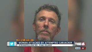 Man tries to car jack woman at knifepoint - Video