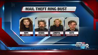 Cochise deputies arrest four in mail theft ring - Video