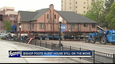 Bishop Foote guest house still on the move
