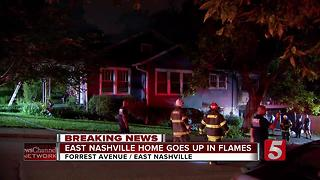 Pets Killed, Home Destroyed In East Nashville Fire - Video