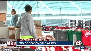 End of Season sale ends Saturday at the Indianapolis Motor Speedway - Video