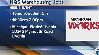 Workers Wanted: NQS Warehousing Jobs - Video