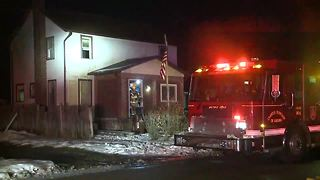 3 people, some pets safe after early morning house fire in Lansing Township - Video
