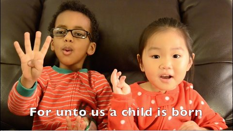 Kids tell the beautiful story of Christmas