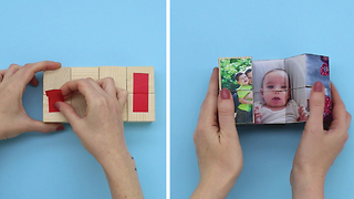 DIY Magic photo holder - Video