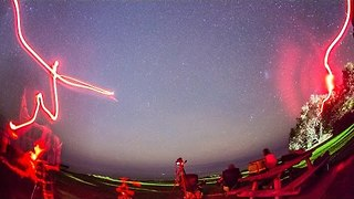 Stunning Eta Aquarid Meteor Shower Streaks Across Australian Sky - Video