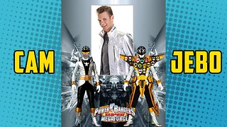 Silver Super Megaforce Power Ranger Cameron Jebo on Stan Lee's Comikaze All Year Long - Video