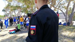 SOUTH AFRICA - Cape Town - Russia China SA NAVY Soccer Tournament (Video) (Uub)