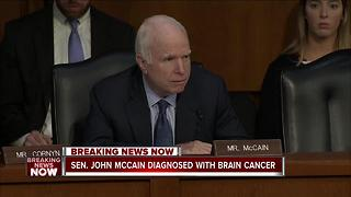 Wisconsin lawmakers support McCain after cancer diagnosis - Video