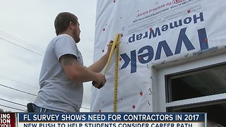 Construction industry's message to students: forgo college, join us instead - Video