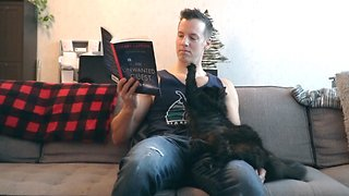 Trying To Read With Cats Around Is Nearly Impossible!