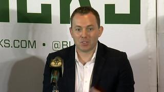 Bucks Promote Jon Horst to GM - Video