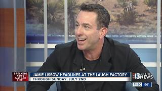 Jamie Lissow headlines at the Laugh Factory - Video