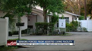 Seniors forced from assisted living facility