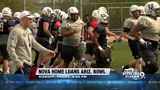 Thousands of fans decend on Tucson for bowl game - Video