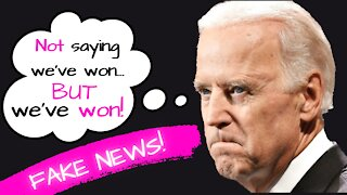 What a JOKE - Did Joe Biden Just Declare Himself the Next President of the United States?!