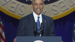 FULL: President Obama delivers farewell address - Video