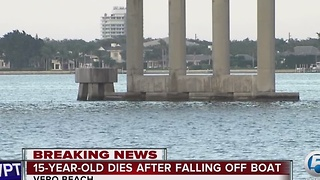 15-year-old boy dies in boating accident in Indian River Lagoon - Video