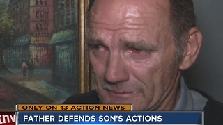 Father speaks out after officer-involved shooting