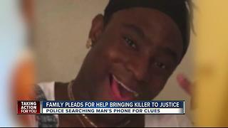 Family pleads for help bringing killer to justice