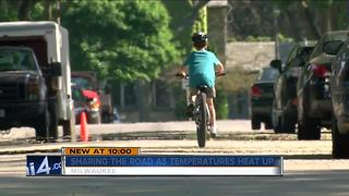 Mom calls for bike safety after her son was hit - Video