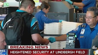 Heightened Security at Lindbergh Field - Video